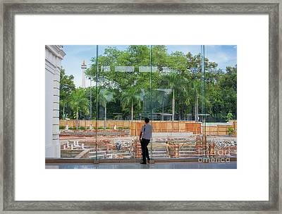 Scapes Of Our Lives #7 Framed Print