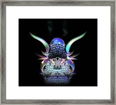Scarab Framed Print by Julie Grace