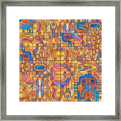 Scarabs And Other Things Framed Print by David Umemoto