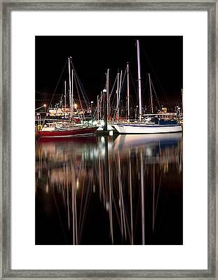Scarborough Boats Framed Print by Svetlana Sewell