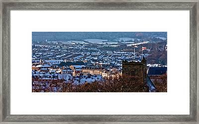 Scarborough Town Framed Print by Ken Yan