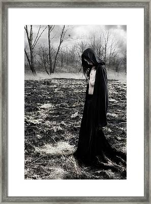 Scarcity Framed Print by Cambion Art