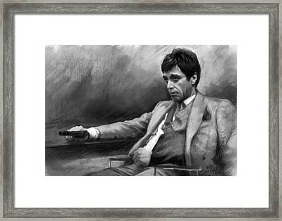 Scarface 2 Framed Print