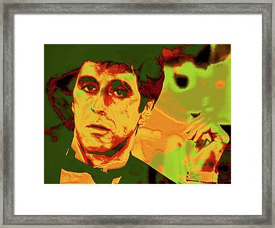 Scarface 7e Framed Print
