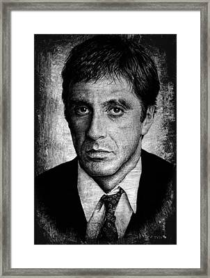Scarface  Framed Print by Andrew Read