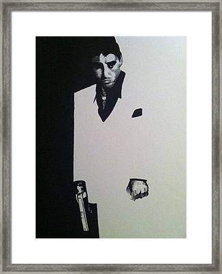Scarface  Framed Print by Davor Sintic