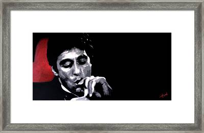 Scarface Widescreen Framed Print