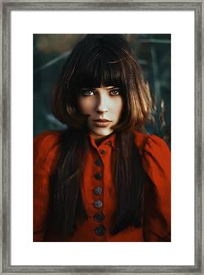 Scarlet Revamp Framed Print