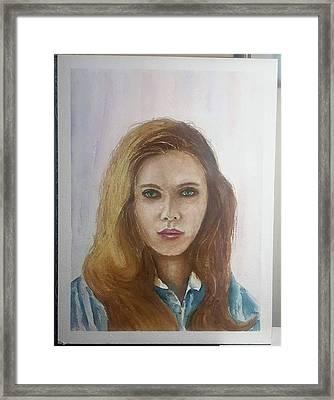 Scarlet1 Framed Print