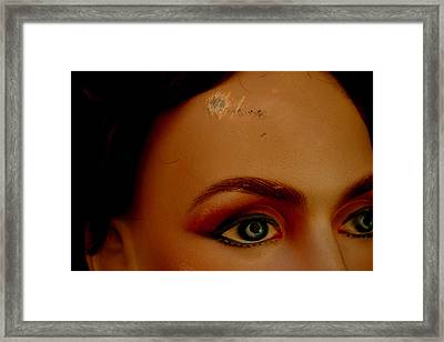 Scarred For Life Framed Print by Jez C Self