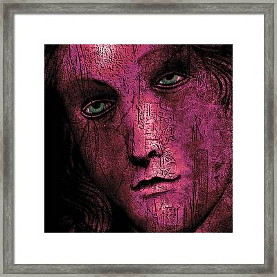 Scars Framed Print by Jeff Burgess
