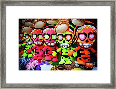 Scary Dudes Framed Print