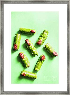 Scary Halloween Sweets Framed Print by Jorgo Photography - Wall Art Gallery