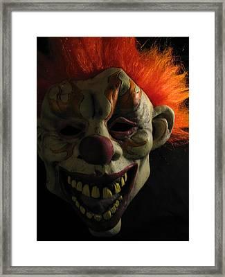 Scary Framed Print