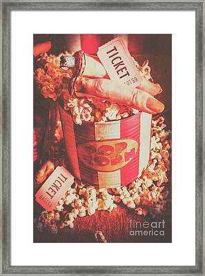 Scary Vintage B-grade Horror Movies Framed Print by Jorgo Photography - Wall Art Gallery