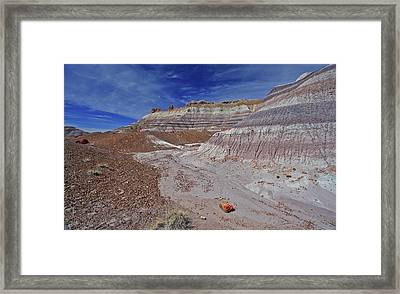 Scattered Fragments Framed Print by Gary Kaylor