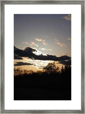 Scattered Shadows Framed Print by Mark  France