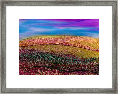 Scattered Stigma Framed Print