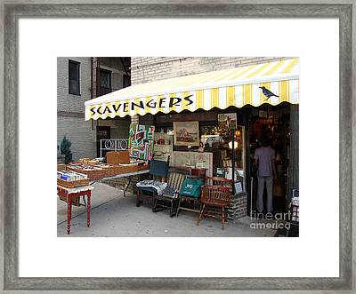Framed Print featuring the photograph Scavengers by Cole Thompson