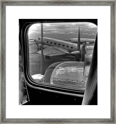Scene From The Golden Age Of Flight Framed Print by William Wetmore