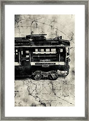 Scene From The Old Tramway Framed Print