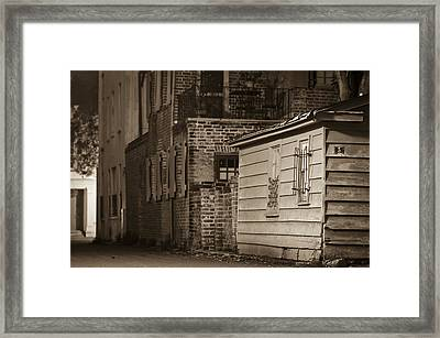 Scene From Yesteryear #1 Framed Print by Andrew Crispi