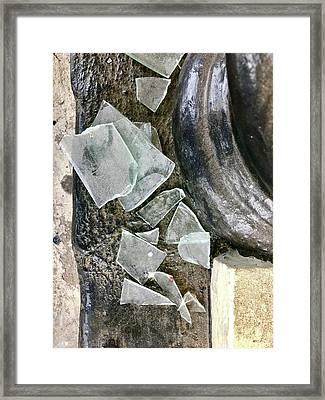Scene In St. Augustine  Framed Print