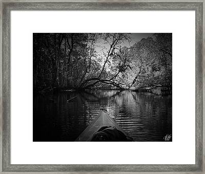 Scenes From A Kayak, No. 8 Framed Print