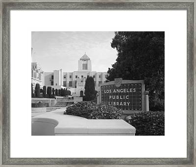 Scenes Of Los Angeles, The Los Angeles Framed Print by Everett