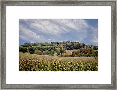 Scenic Amish Landscape 6 Framed Print by SharaLee Art