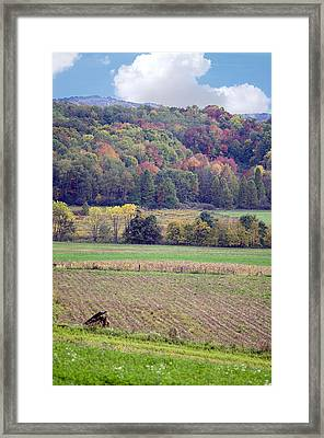 Scenic Autumn Landscape 3 Framed Print by SharaLee Art