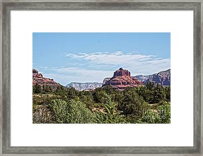 Scenic Bell Rock Framed Print