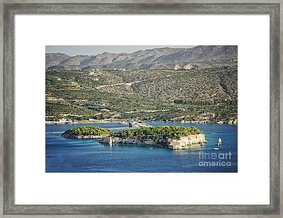Scenic Crete Framed Print