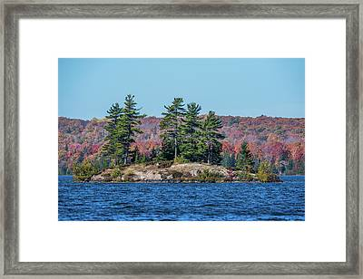 Framed Print featuring the photograph Scenic Fall View by Paul Freidlund