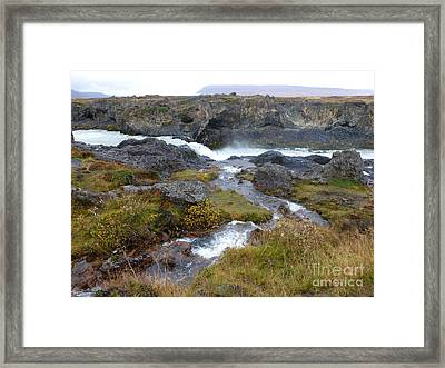 Scenic Intersection Framed Print