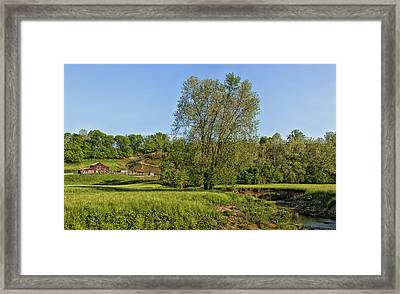 Scenic Jackson County West Virginia Framed Print by Mountain Dreams