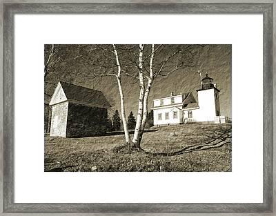 Scenic Maine Framed Print