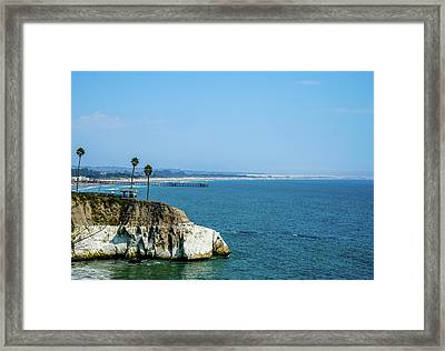 Scenic Outcropping Framed Print