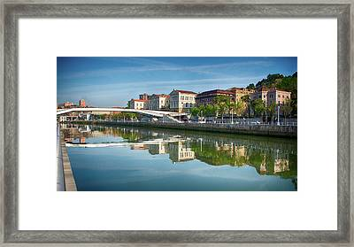 Scenic River View Framed Print by James Hammond