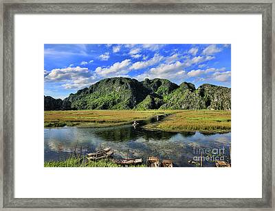 Scenic Route  Framed Print by Chuck Kuhn