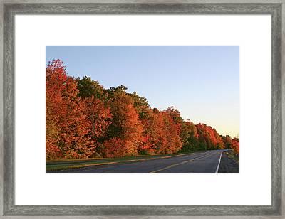 Scenic Route Framed Print