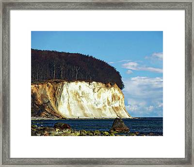 Scenic Rugen Island Framed Print by Anthony Dezenzio