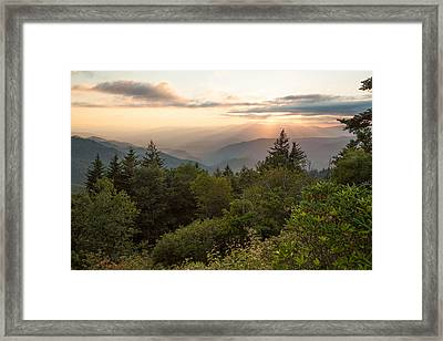 Scenic Smoky Mountains Framed Print by Doug McPherson