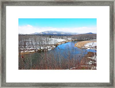 Scenic View  Framed Print by Catherine Reusch Daley