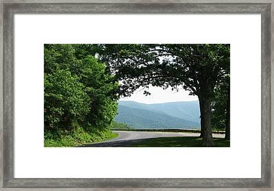 Scenic View Framed Print by Joyce Kimble Smith