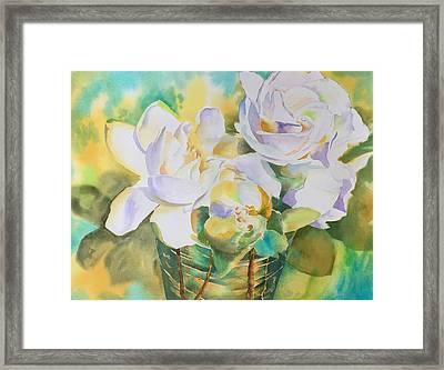 Scent Of Gardenias  Framed Print