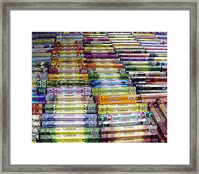 Scentsational Selection Framed Print by Lene Pieters