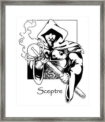 Sceptre Framed Print