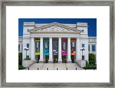 Schermerhorn Symphony Center Framed Print by Art Spectrum