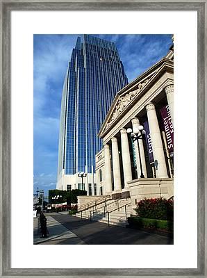Schermerhorn Symphony Center Nashville Framed Print by Susanne Van Hulst